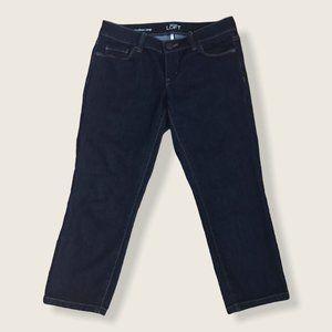 Ann Taylor LOFT Modern Crop Stretch Jeans Capri